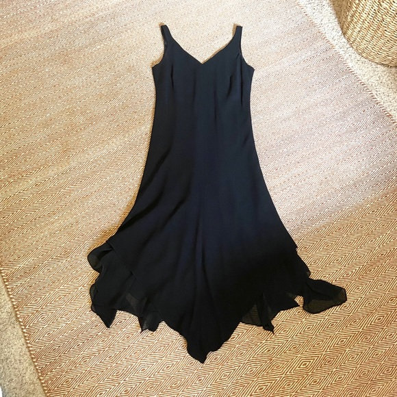 Jones Wear Dresses & Skirts - Vintage Jones Wear Dress | Handkerchief Hem Dress